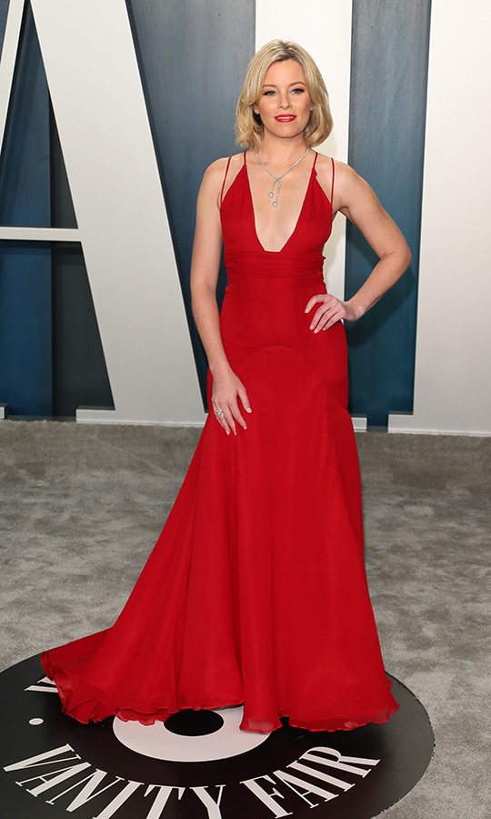 Lady in red! <a href=/tags/0/elizabeth-banks><strong>Elizabeth Banks</strong></a> looked sensational at the 2020 Vanity Fair Oscar Party.<p>Photo: &copy; JEAN-BAPTISTE LACROIX/AFP via Getty Images
