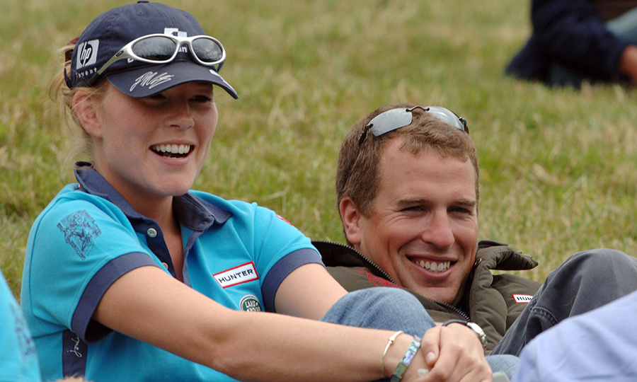 In 2005, Peter and Autumn – then known as <strong>Autumn Kelly</strong> – were pictured looking happy and laid back at the Gatcombe Park Festival of British Eventing at Gatcombe Park near Tetbury. 