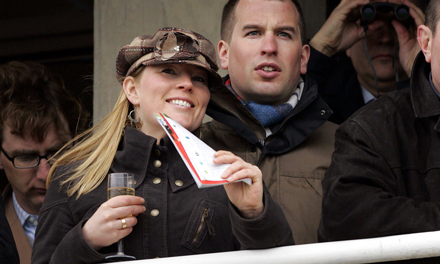 The couple looked very much in love at the Cheltenham Festival Race Meeting in March 2006. 