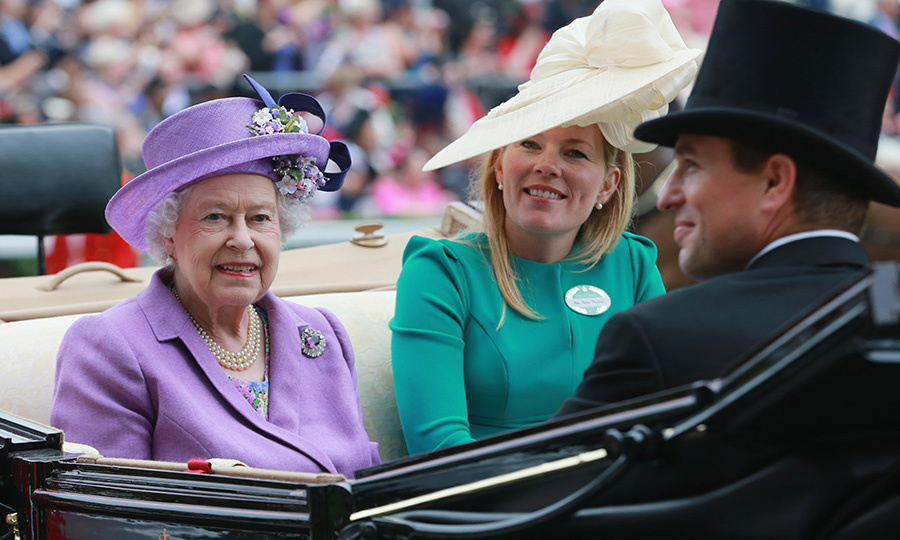 Autumn attended Royal Ascot with the Queen in 2013. 