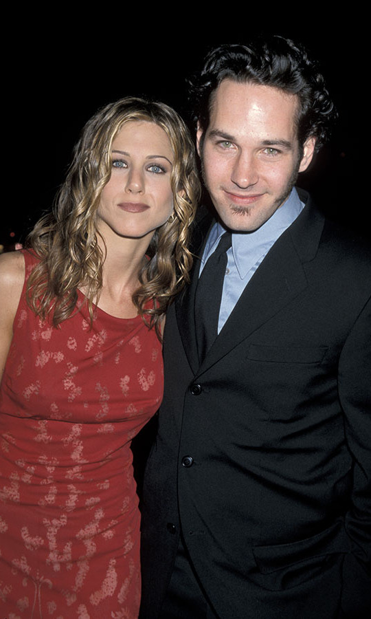<h2>1998</h2><p>And she posed with her co-star <a href=/tags/0/paul-rudd><strong>Paul Rudd</strong></a>!<p>Photo: &copy; Jim Smeal/Ron Galella Collection via Getty Images