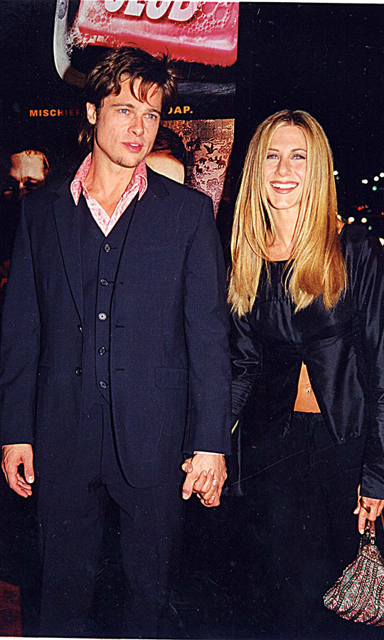 <h2>1999</h2><p>Jennifer showed her support for then-partner <a href=/tags/0/brad-pitt><strong>Brad Pitt</strong></a> at the <em>Fight Club</em> premiere. <p>Photo: &copy; Jeff Kravitz/FilmMagic