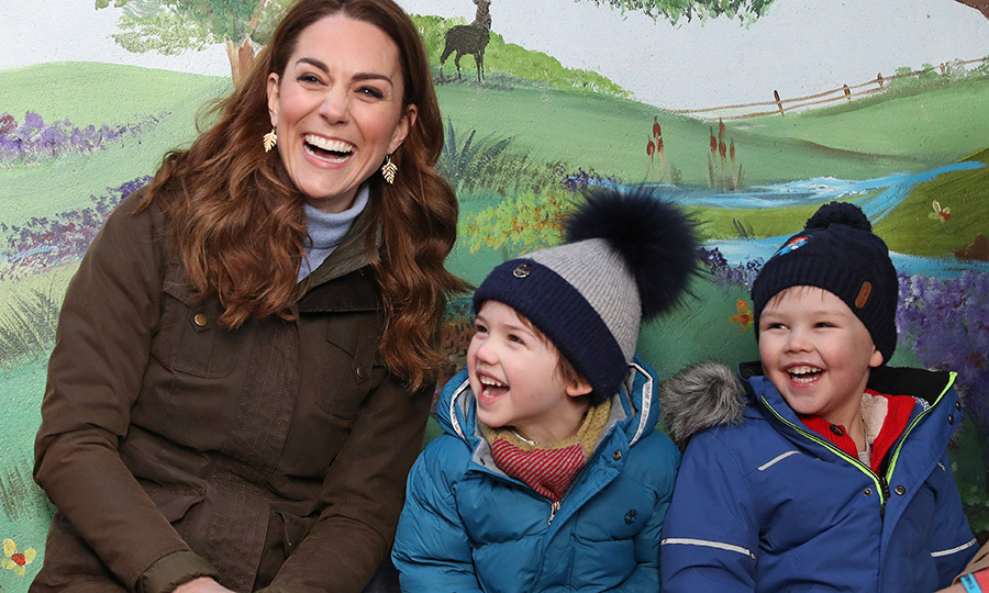 <a href=/tags/0/kate-middleton><strong>Duchess Kate</a></strong> made a surprise visit to Northern Ireland on Feb. 12! The Duchess of Cambridge was in Newtonards, County Down, where she stepped out to The Ark Open Farm. 