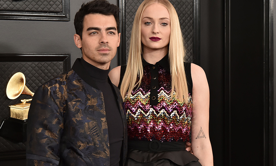 <h2>Joe Jonas and Sophie Turner</h2>