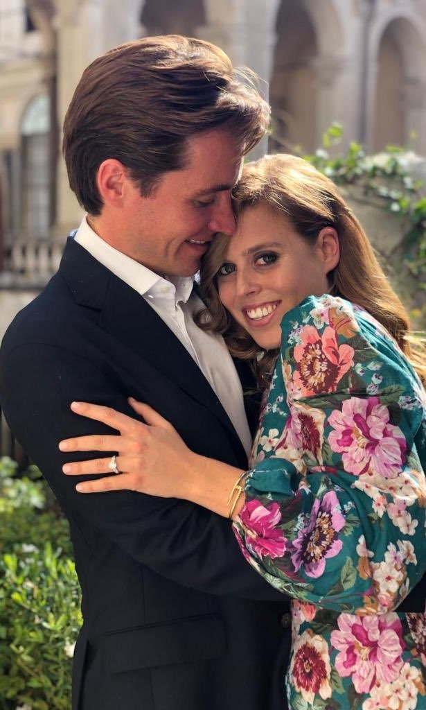 <a href=/tags/0/princess-beatrice><strong>Princess Beatrice</strong></a> and fiancé <a href=/tags/0/edoardo-mapelli-mozzi><strong>Edoardo Mapelli Mozzi</strong></a> looked so in love in their official engagement photos taken by Beatrice's sister, <a href=/tags/0/princess-eugenie><strong>Princess Eugenie</strong></a>. 