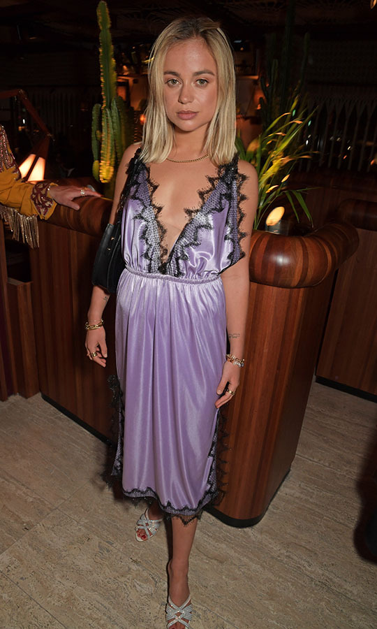 <a href=/tags/0/lady-amelia-windsor><strong>Lady Amelia Windsor</strong></a> wowed in a pale purple slip dress at the LOVE Magazine LFW Party on Feb. 17. <p>Photo: &copy; David M. Benett/Dave Benett/Getty Images for LOVE Magazine