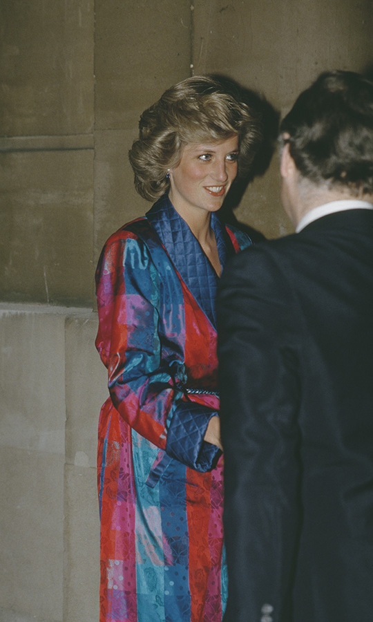 <a href=/tags/0/princess-diana><strong>Diana, Princess of Wales</strong></a> attended a British Fashion Week dinner at Lancaster House in London in March 1985.<p>Photo: &copy; Princess Diana Archive/Getty Images