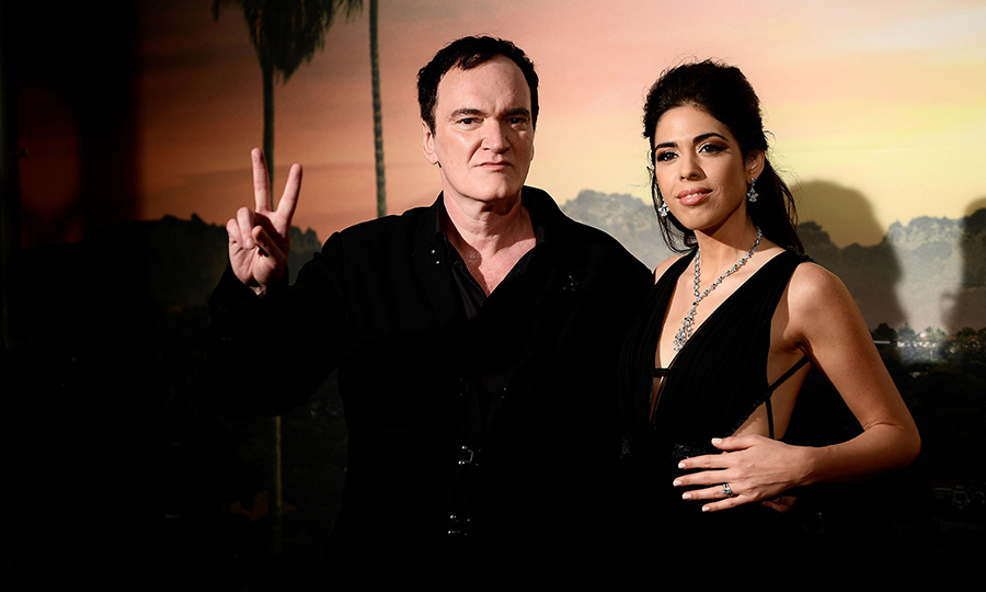 <H2>Quentin Tarantino and Daniella Pick</h2>