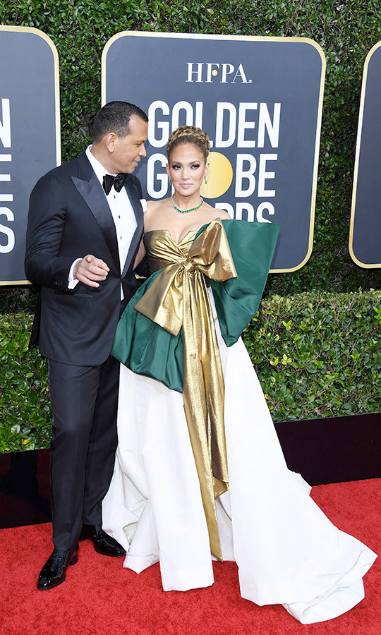 <h2>Jennifer Lopez and Alex Rodriguez</h2>