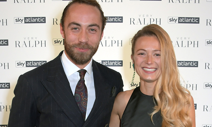 <h2>James Middleton and Alizee Thevenet</h2>