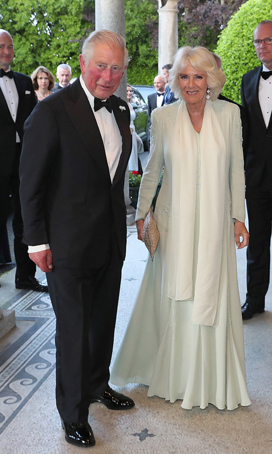 Charles and Camilla put on their finest for a dinner celebrating UK/Ireland relations at Glencairn on May 20, 2019. <p>Photo: © Chris Jackson/Getty Images