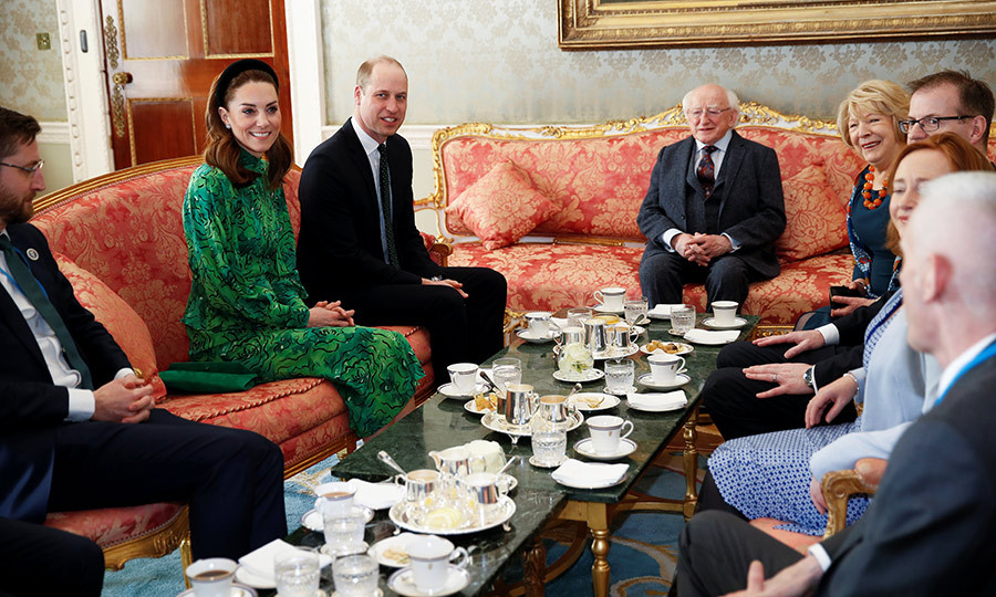 <strong><A href=/tags/0/kate-middleton>Duchess Kate</a></strong> and <Strong><a href=/tags/0/prince-william>Prince William</a></strong> are in Ireland on a three-day tour of the country.