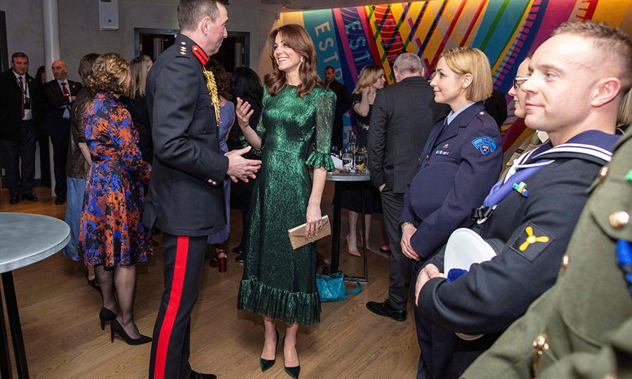 The guests included athletes, actors and actresses and members of the Irish armed forces. 