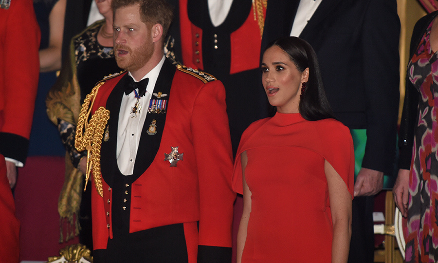 "The Sussexes sang ""God Save the Queen"" as the event got underway. 