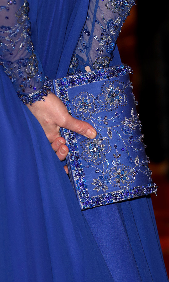 Here's a closer look at Kate's stunning clutch!