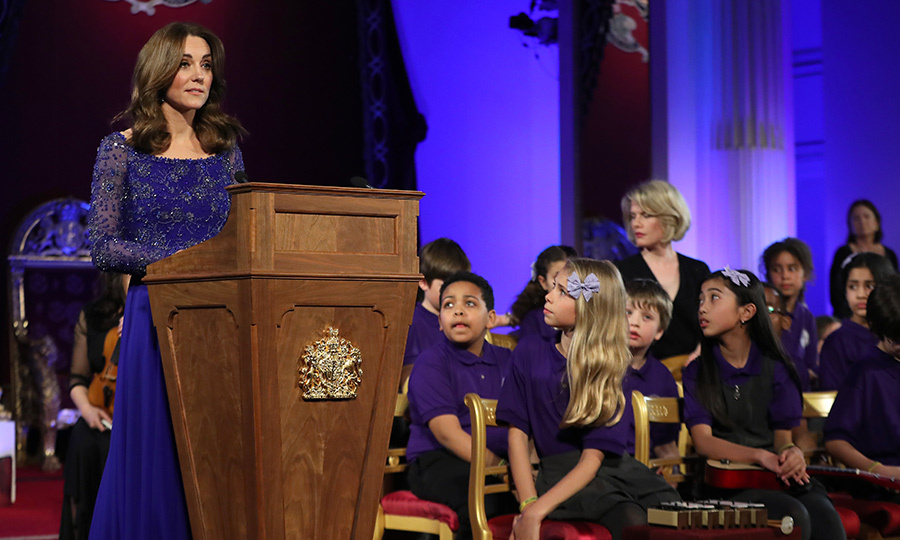 <a href=/tags/0/kate-middleton><strong>Duchess Kate</a></strong> hosted a special gala dinner reception at Buckingham Palace for her longtime patronage <Strong><A href=/tags/0/place2be>Place2Be</a></strong> on March 9. 