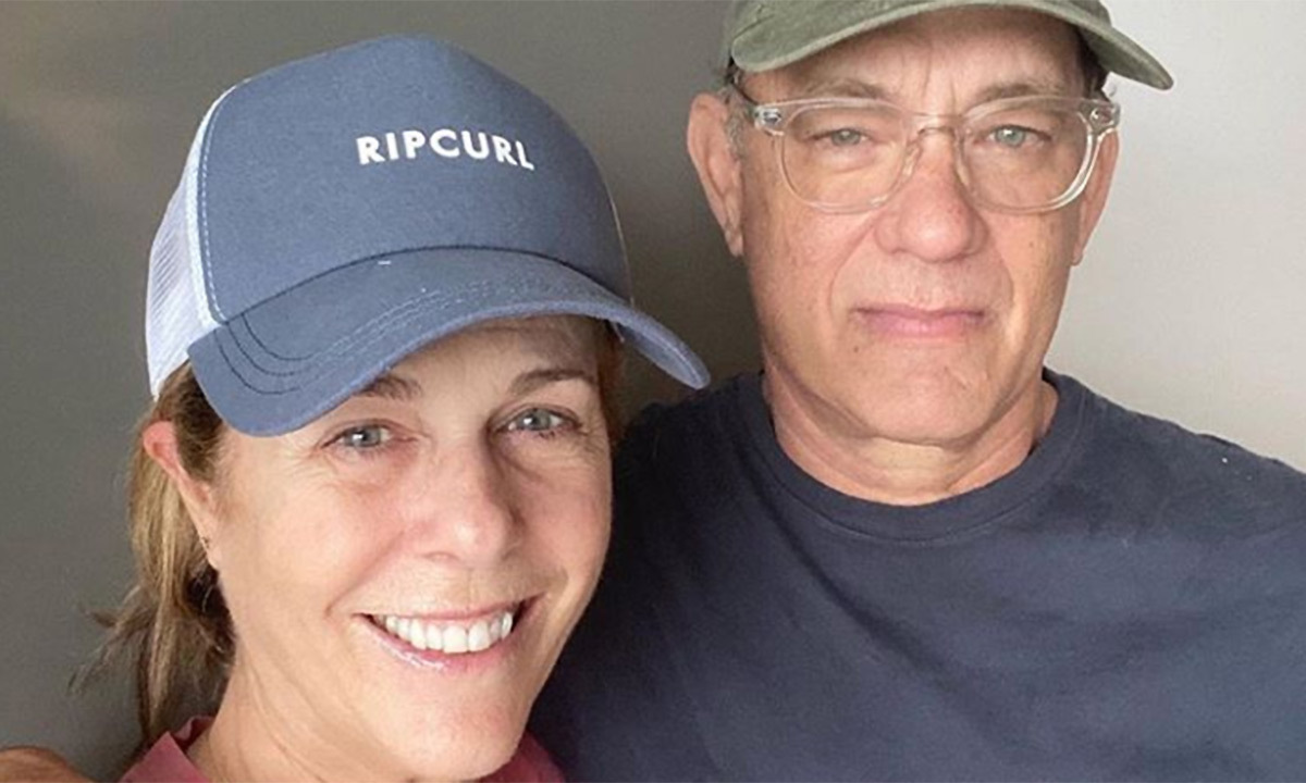 <h2>Tom Hanks and Rita Wilson</h2>