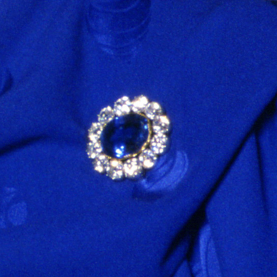 <h2>Queen Victoria's Sapphire and Diamond Wedding Brooch</h2>