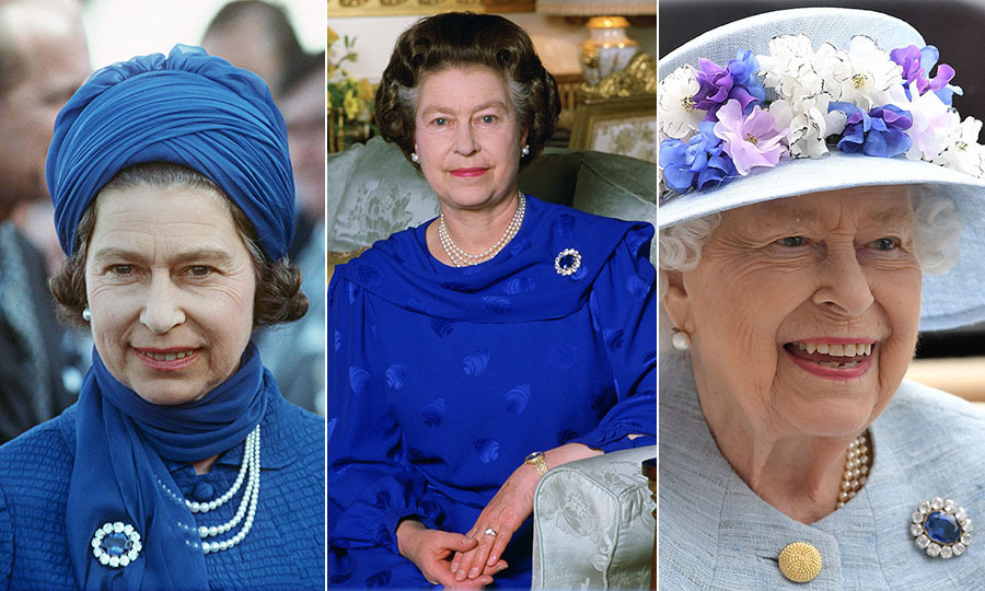 Her Majesty has accessorized with Queen Victoria's sapphire-and-diamond brooch many times. One meaningful moment was to <a href=/tags/0/prince-william><strong>Prince William</strong></a>'s christening in 1982. 