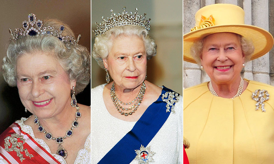 Given the name of the brooch, it seems only appropriate that the Queen has worn the True Lover's Knot brooch to a number of weddings over the years. Additionally, she tends to bring it out for fancy occasions when she accessorizes with the brooch, a necklace <em>and</em> tiara.