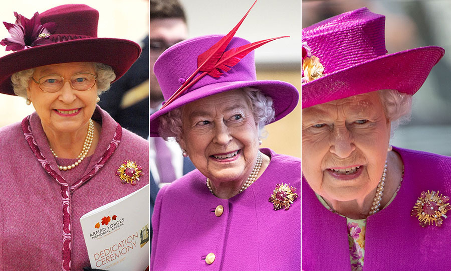 <p>The Queen doesn't necessarily reserve the brooch for occasions with Prince Philip. Instead, she wears it to various engagements, sometimes with a military theme, which could be a reference to Philip's military career. Her Majesty could also use the brooch to keep her husband close to her heart while she is away. 
