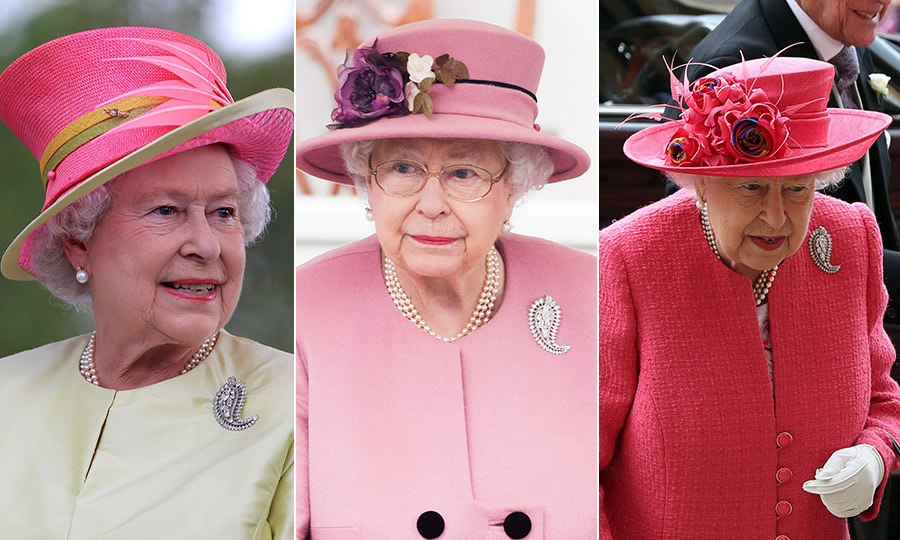Her Majesty selected the special brooch for her eight-day royal tour of Canada in 2010, which celebrated Canada Day and the centenary of the Canadian Navy. Here, she is at the first Canadian concert for Human Rights in 2010 in Winnipeg (left). 