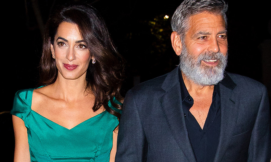 <h2>George Clooney and Amal Clooney</h2>