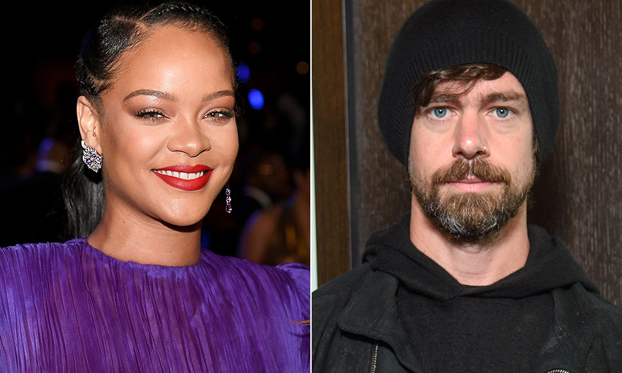 <h2>Rihanna and Jack Dorsey</h2>