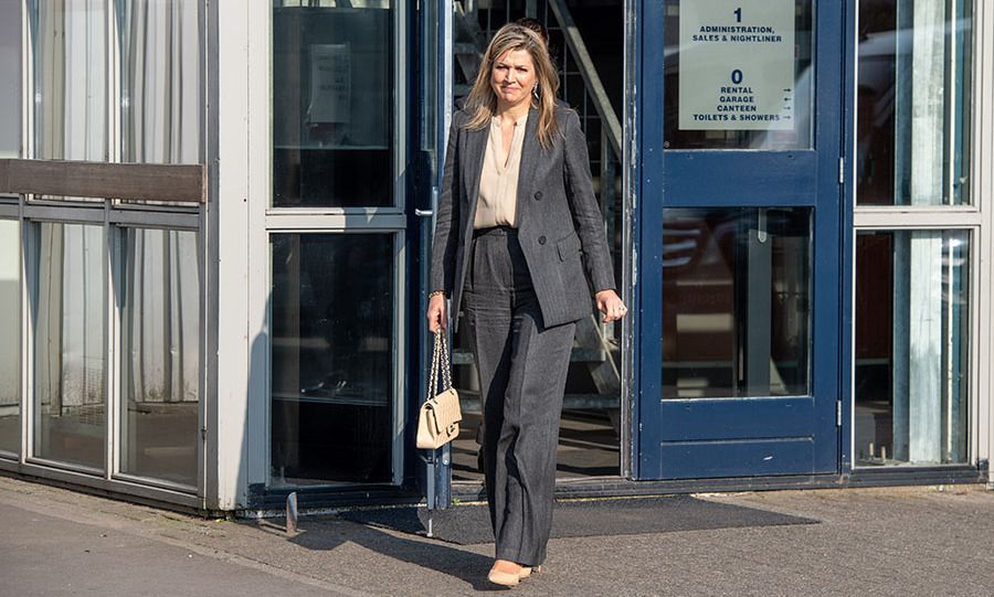 Also on April 8, <a href=/tags/0/queen-maxima><strong>Queen Máxima</strong></a> visited transport company Pieter Smit in Nieuw Vennep to see its coronavirus-related work.