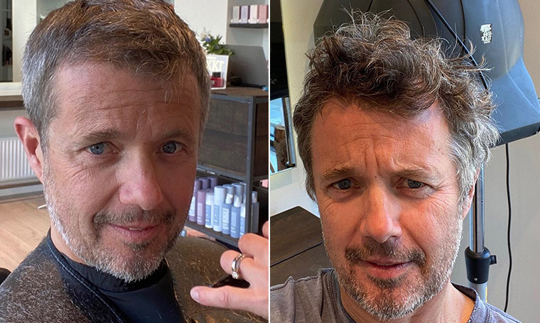 <a href=/tags/0/crown-prince-frederik><strong>Crown Prince Frederik</strong></a> shared a photo of his haircut while simultaneously showing his support for small businesses on the <a href=/tags/0/danish-royals><strong>Danish royal family</strong></a>'s official Instagram on April 20, explaining how he was able to visit the barbershop after select small businesses had started to reopen in Denmark.