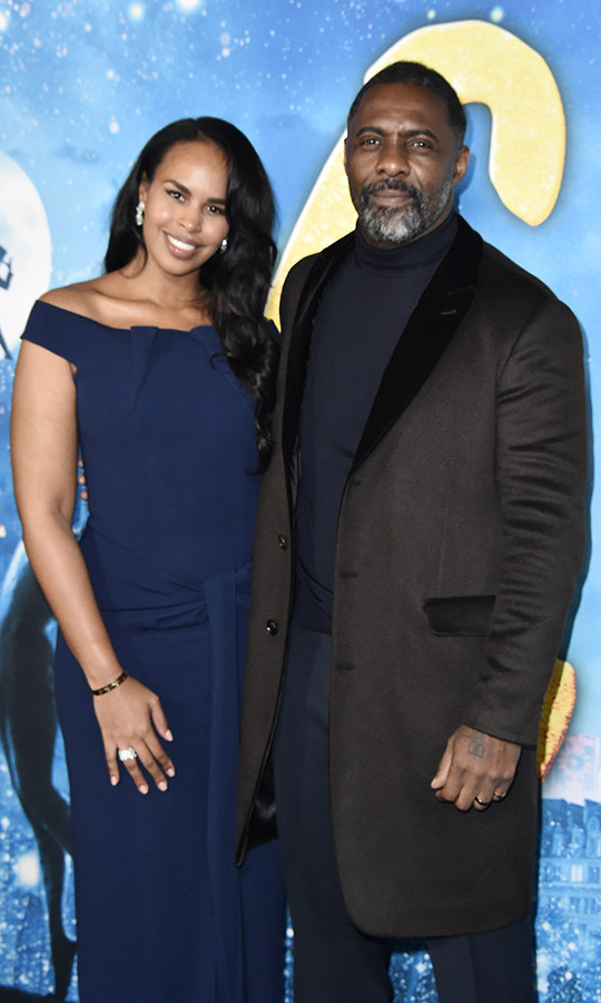 <h2>Idris Elba and Sabrina Dhowre Elba</h2>
