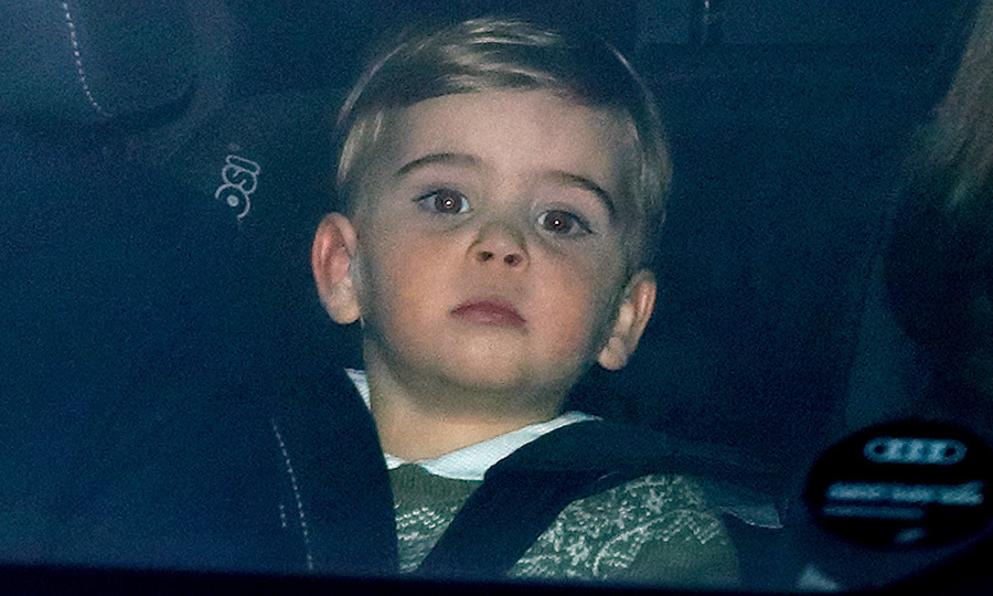 In December 2019, little Louis was spotted in the back of his parents' car as he arrived with his mom and dad and big brother <strong><a href=/tags/0/prince-george>Prince George</a></strong> and <Strong><a href=/tags/0/princess-charlotte>Princess Charlotte</a></strong> to <a href=/tags/0/queen-elizabeth-ii>the Queen</a></strong>'s annual Christmas lunch. 