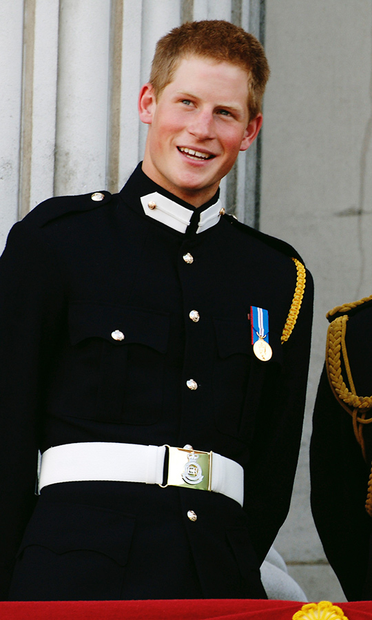 <h2>Prince Harry, 2005</h2>