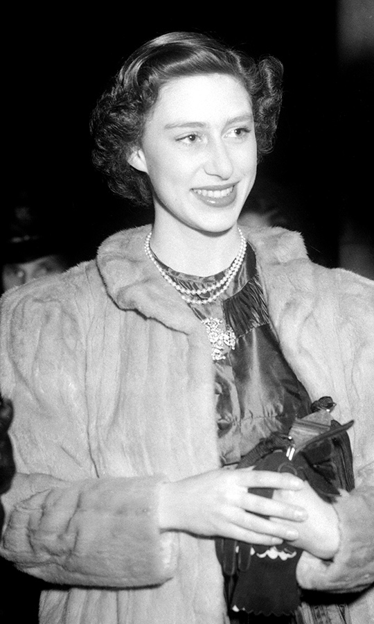 <h2>Princess Margaret, 1950</h2>