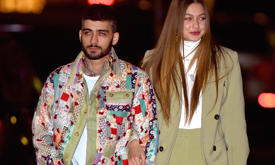 <h2>Gigi Hadid and Zayn Malik</h2>