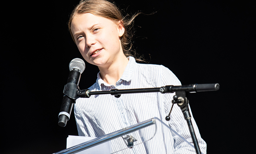 <h2>Greta Thunberg</h2>