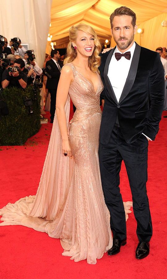 <h2>Blake Lively and Ryan Reynolds, 2014</h2>