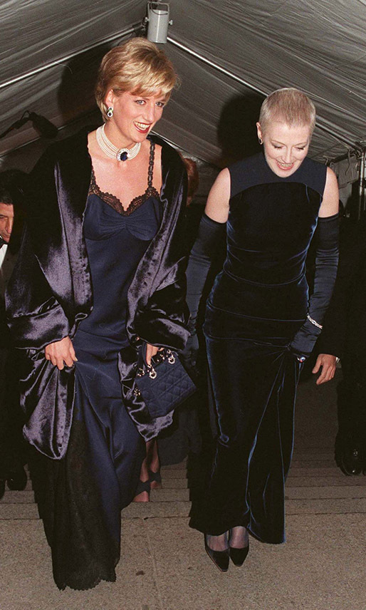 <h2>Princess Diana and Liz Tilberis, 1996</h2>