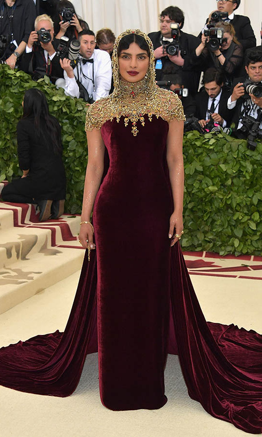 <h2>Priyanka Chopra, 2018 </h2>