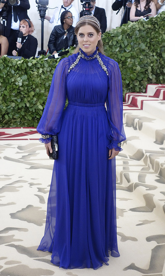 <h2> Princess Beatrice, 2018</h2>