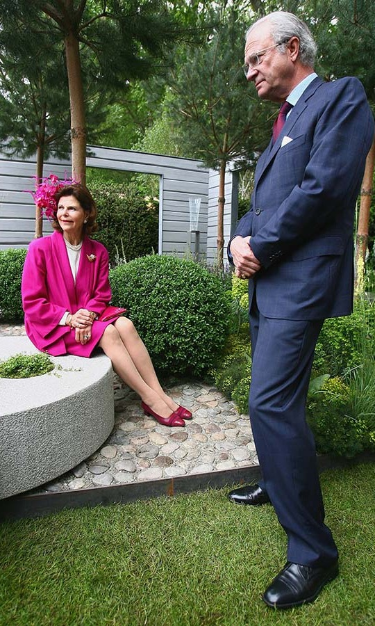 <h2>Queen Silvia and King Carl XVI Gustaf, 2007</h2>