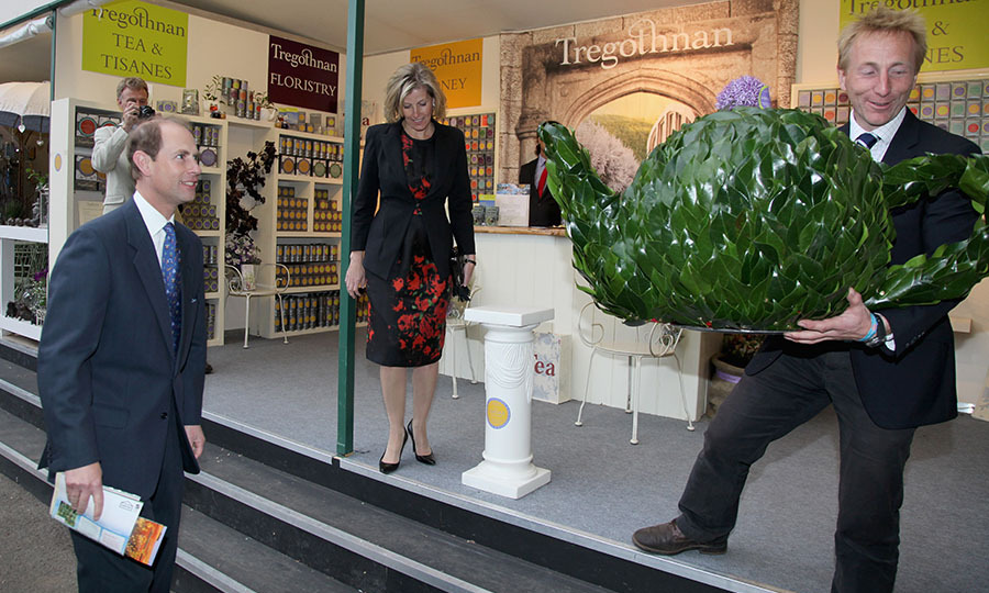 <h2>Prince Edward and the Countess of Wessex, 2011</h2>