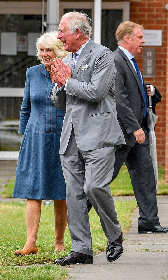The same day, the Prince of Wales and Duchess Camilla emerged from isolating at their Birkhall home on the Balmoral estate in Scotland to visit the Gloucestershire Royal Hospital, for their first in-person engagement.