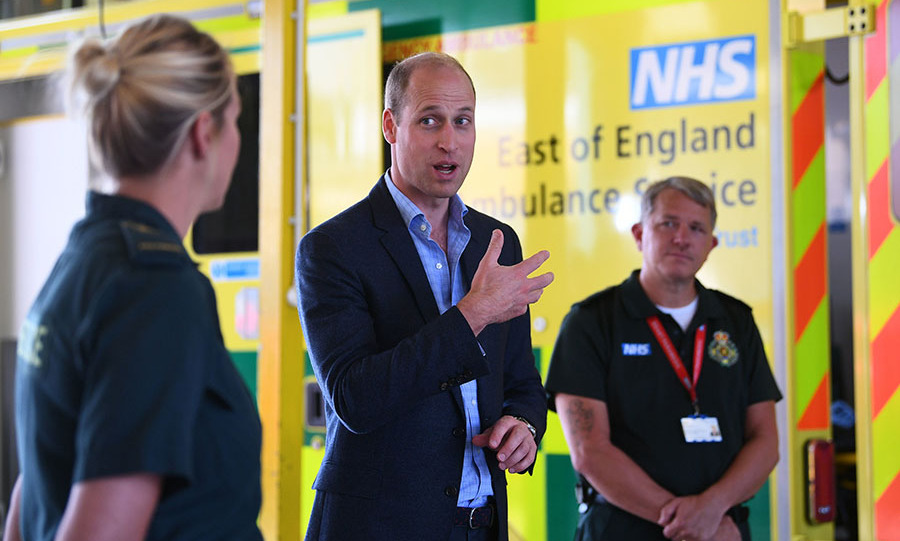 On June 16, <a href=/tags/0/prince-william><strong>Prince William</strong></a> carried out his first face-to-face royal engagement in three months.