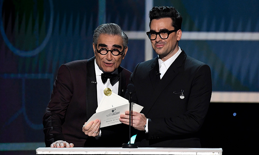 <h2>Eugene and Dan Levy</h2>