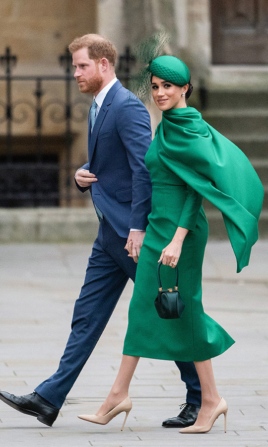 Harry and Meghan's final joint engagement as senior members of the Royal Family was at Commonwealth Day on March 9. Photo: © Gareth Cattermole/Getty Images