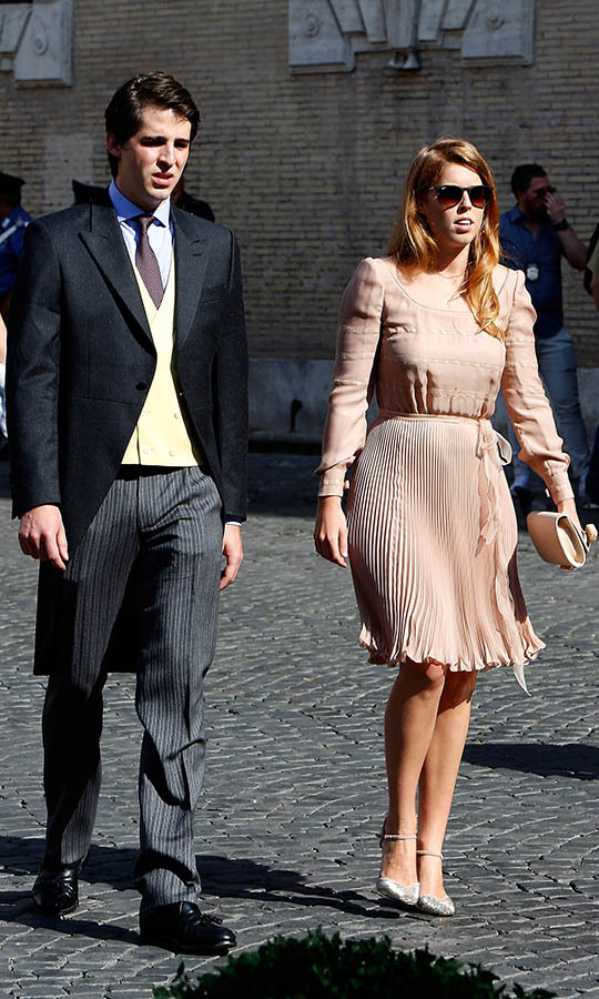 <h2>Prince Amedeo of Belgium and Elisabetta Maria Rosboch Von Wolkenstein, 2014</h2>
