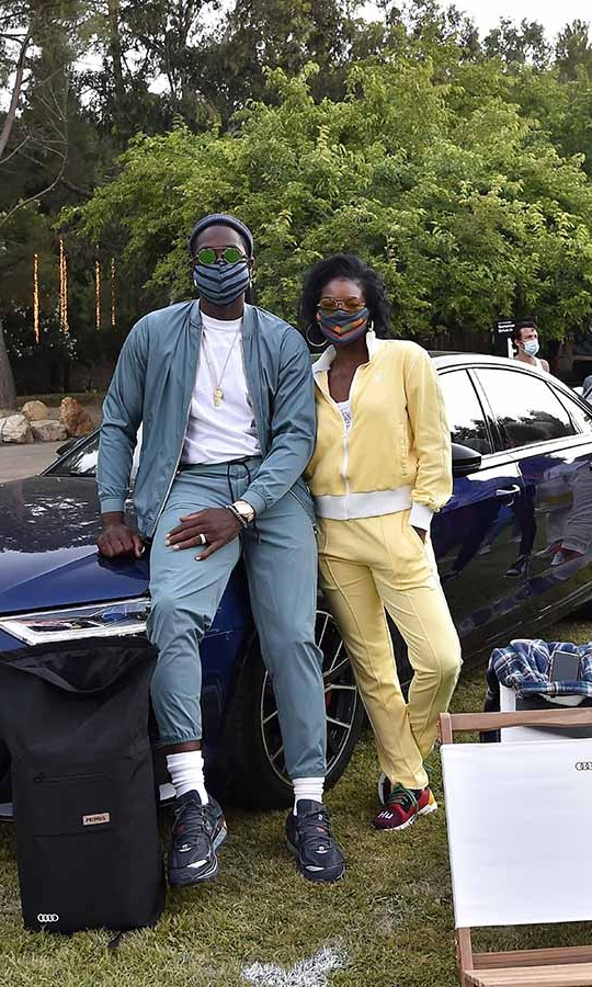 <h2>Dwyane Wade and Gabrielle Union</h2>