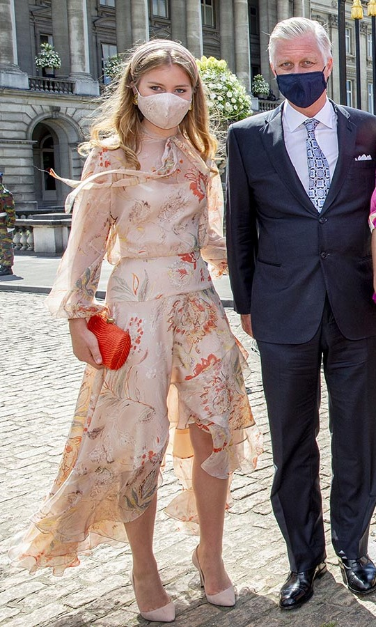 <h2>Princess Elisabeth and King Philippe</h2>