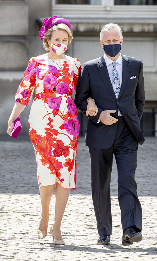 The <a href=/tags/0/belgian-royals><strong>Belgian royals</strong></a> made a beautiful entrance at the National Parade in the front of the Royal palace on July 21 in Brussels.